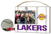 Los Angeles Lakers Clip It Weathered Logo Photo Frame
