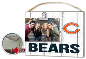 Chicago Bears Clip It Weathered Logo Photo Frame