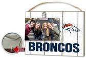 Denver Broncos Clip It Weathered Logo Photo Frame
