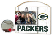 Green Bay Packers Clip It Weathered Logo Photo Frame