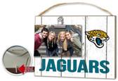 Jacksonville Jaguars Clip It Weathered Logo Photo Frame