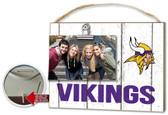Minnesota Vikings Clip It Weathered Logo Photo Frame