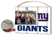 New York Giants Clip It Weathered Logo Photo Frame