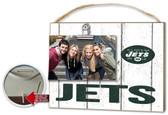 New York Jets Clip It Weathered Logo Photo Frame