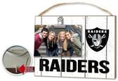 Oakland Raiders Clip It Weathered Logo Photo Frame