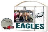 Philadelphia Eagles Clip It Weathered Logo Photo Frame