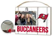 Tampa Bay Buccaneers Clip It Weathered Logo Photo Frame
