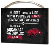 Arkansas Razorbacks Small Plaque - Best Things