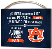 Auburn Tigers Small Plaque - Best Things