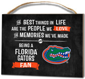 Florida Gators Small Plaque - Best Things