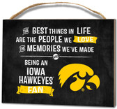 Iowa Hawkeyes Small Plaque - Best Things