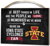 Iowa State Cyclones Small Plaque - Best Things