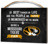 Missouri Tigers Small Plaque - Best Things