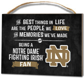 Notre Dame Fighting Irish Small Plaque - Best Things