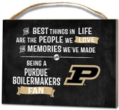 Purdue Boilermakers Small Plaque - Best Things