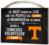 Tennessee Volunteers Small Plaque - Best Things