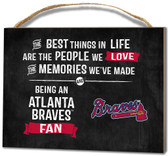 Atlanta Braves Small Plaque - Best Things