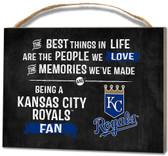 Kansas City Royals Small Plaque - Best Things
