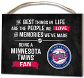 Minnesota Twins Small Plaque - Best Things
