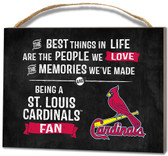 St. Louis Cardinals Small Plaque - Best Things