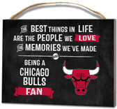 Chicago Bulls Small Plaque - Best Things