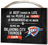 Oklahoma City Thunder Small Plaque - Best Things