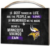 Minnesota Vikings Small Plaque - Best Things