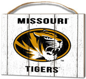 Missouri Tigers Small Plaque - Weathered Logo