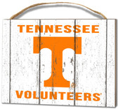 Tennessee Volunteers Small Plaque - Weathered Logo
