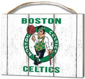 Boston Celtics Small Plaque - Weathered Logo