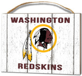 Washington Redskins Small Plaque - Weathered Logo