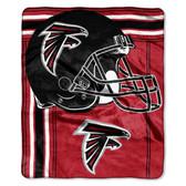 Atlanta Falcons Blanket 50x60 Raschel Touchback Design