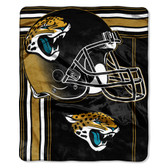 Jacksonville Jaguars Blanket 50x60 Raschel Touchback Design