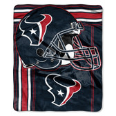 Houston Texans Blanket 50x60 Raschel Touchback Design
