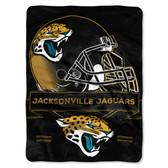 Jacksonville Jaguars Blanket 60x80 Raschel Prestige Design