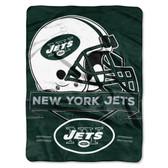 New York Jets Blanket 60x80 Raschel Prestige Design