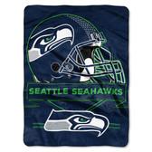 Seattle Seahawks Blanket 60x80 Raschel Prestige Design