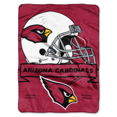 Arizona Cardinals Blanket 60x80 Raschel Prestige Design