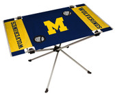 Michigan Wolverines Table Endzone Style