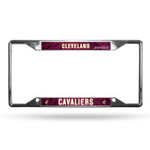 Cleveland Cavaliers License Plate Frame Chrome EZ View