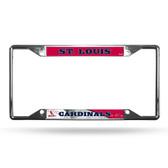 St. Louis Cardinals License Plate Frame Chrome EZ View