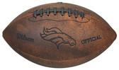 Denver Broncos Football - Vintage Throwback - 9 Inches