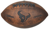 Houston Texans Football - Vintage Throwback - 9 Inches