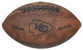 Kansas City Chiefs Football - Vintage Throwback - 9 Inches