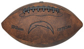 Los Angeles Chargers Football - Vintage Throwback - 9 Inches