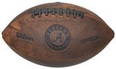 Alabama Crimson Tide Football - Vintage Throwback - 9 Inches