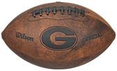 Georgia Bulldogs Football - Vintage Throwback - 9 Inches
