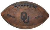 Oklahoma Sooners Football - Vintage Throwback - 9 Inches
