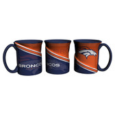 Denver Broncos Coffee Mug 18oz Twist Style