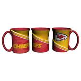 Kansas City Chiefs Coffee Mug 18oz Twist Style